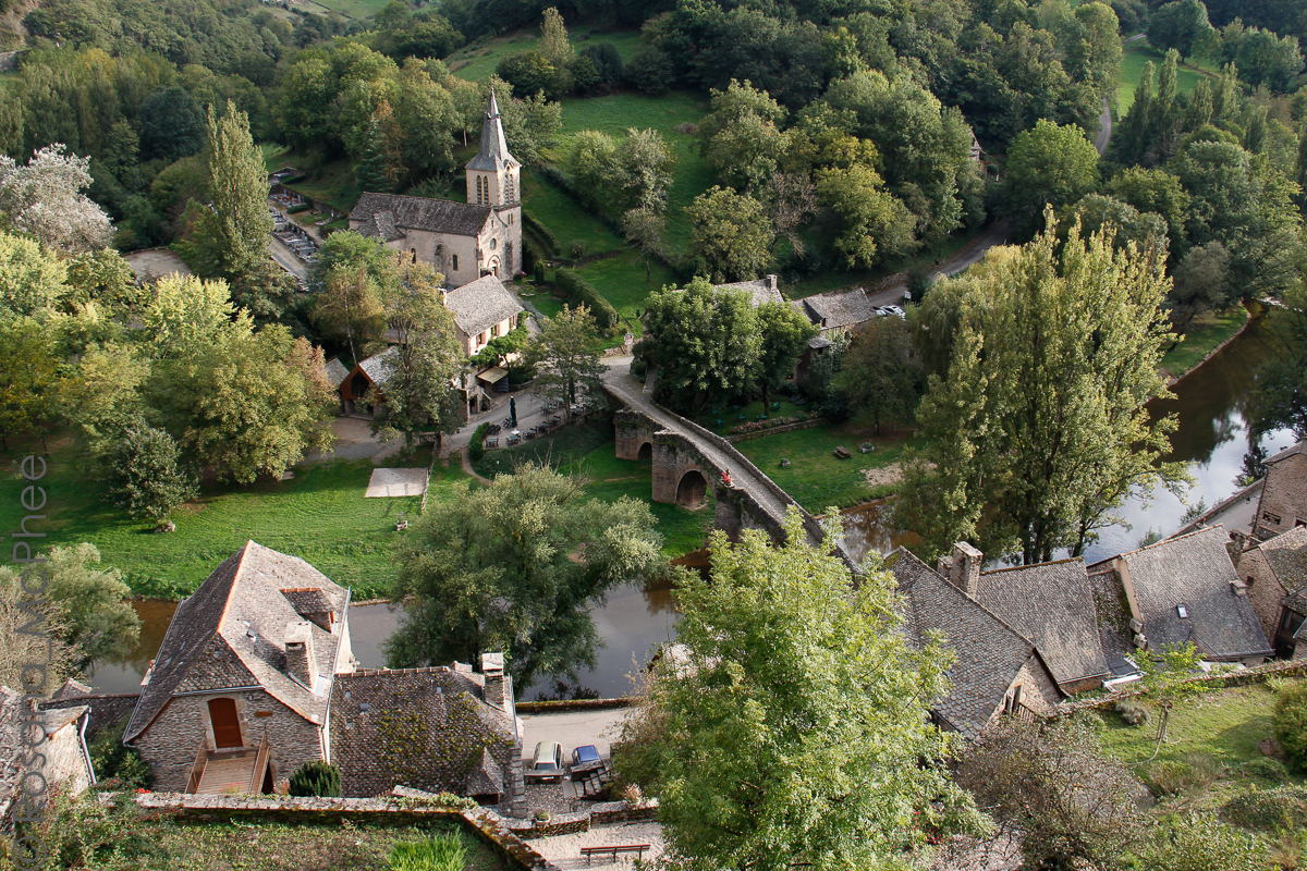 France, Aveyron: Belcastel, Villefranche & Conques