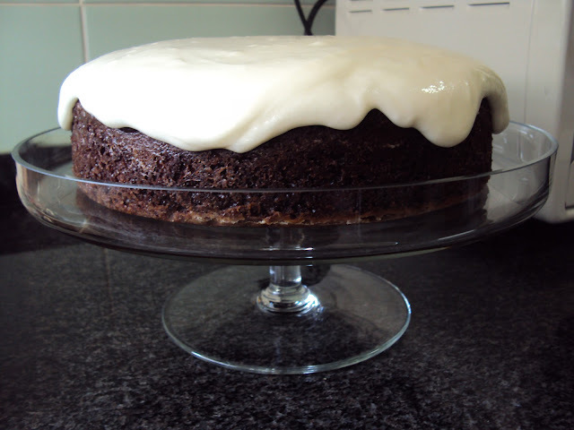 Black Beetroot Cake