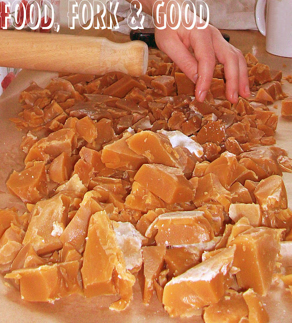 Basic Old Fashioned Toffee Recipe