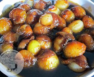 Recetas de cebollitas francesas glaseadas al pedro ximenez Tapas francesas