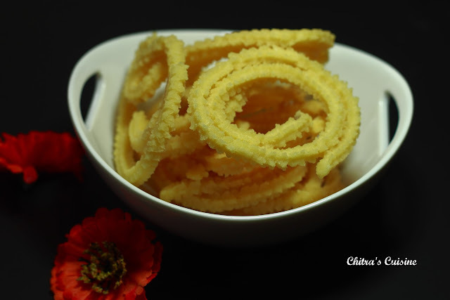 Pottukadalai(Split Roasted Gram Dal) Murukku