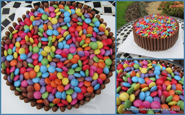 An easy birthday cake - how to