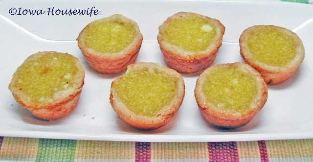 Lemon Coconut Tarts