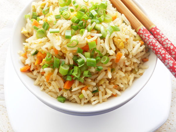 Easy Fried Rice...step by step.