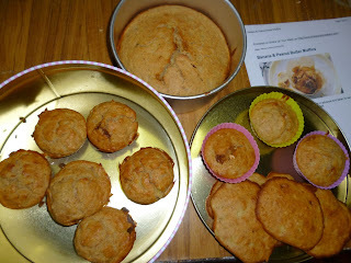 #BreakfastWatch Day 2 : Banana & Peanut Butter Muffins