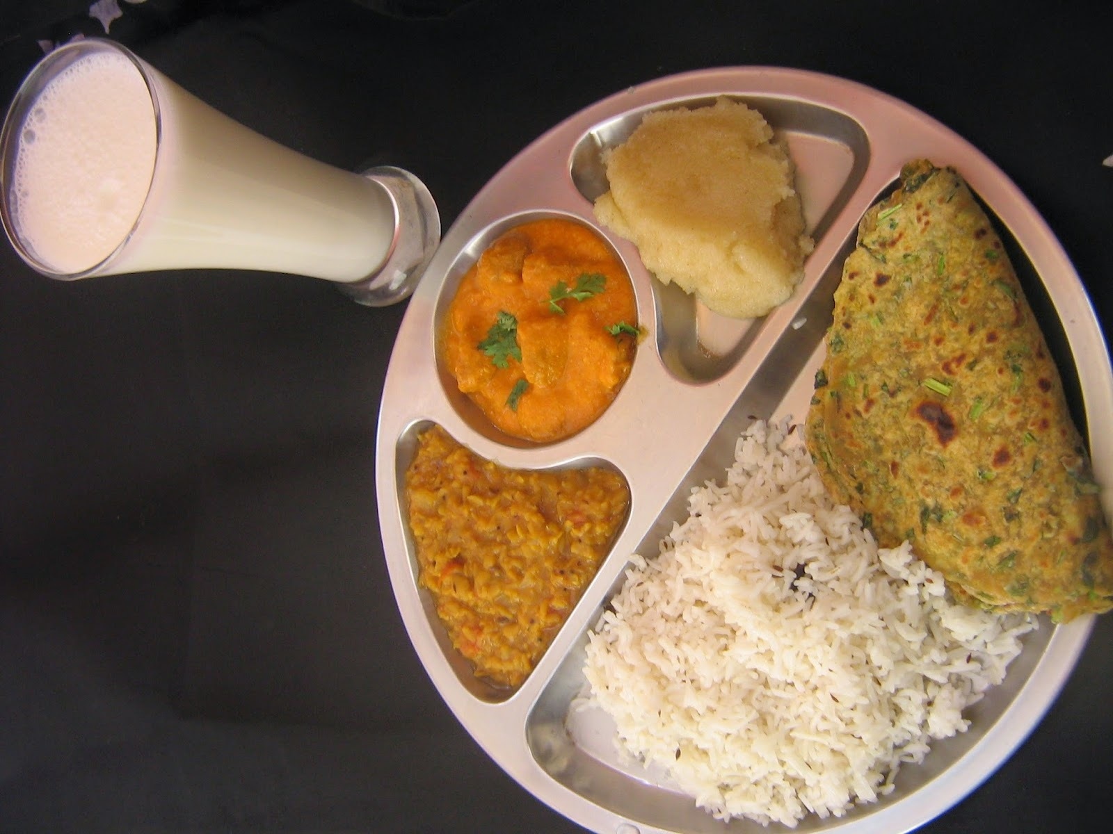 North Indian lunch menu / Easy to make North Indian lunch