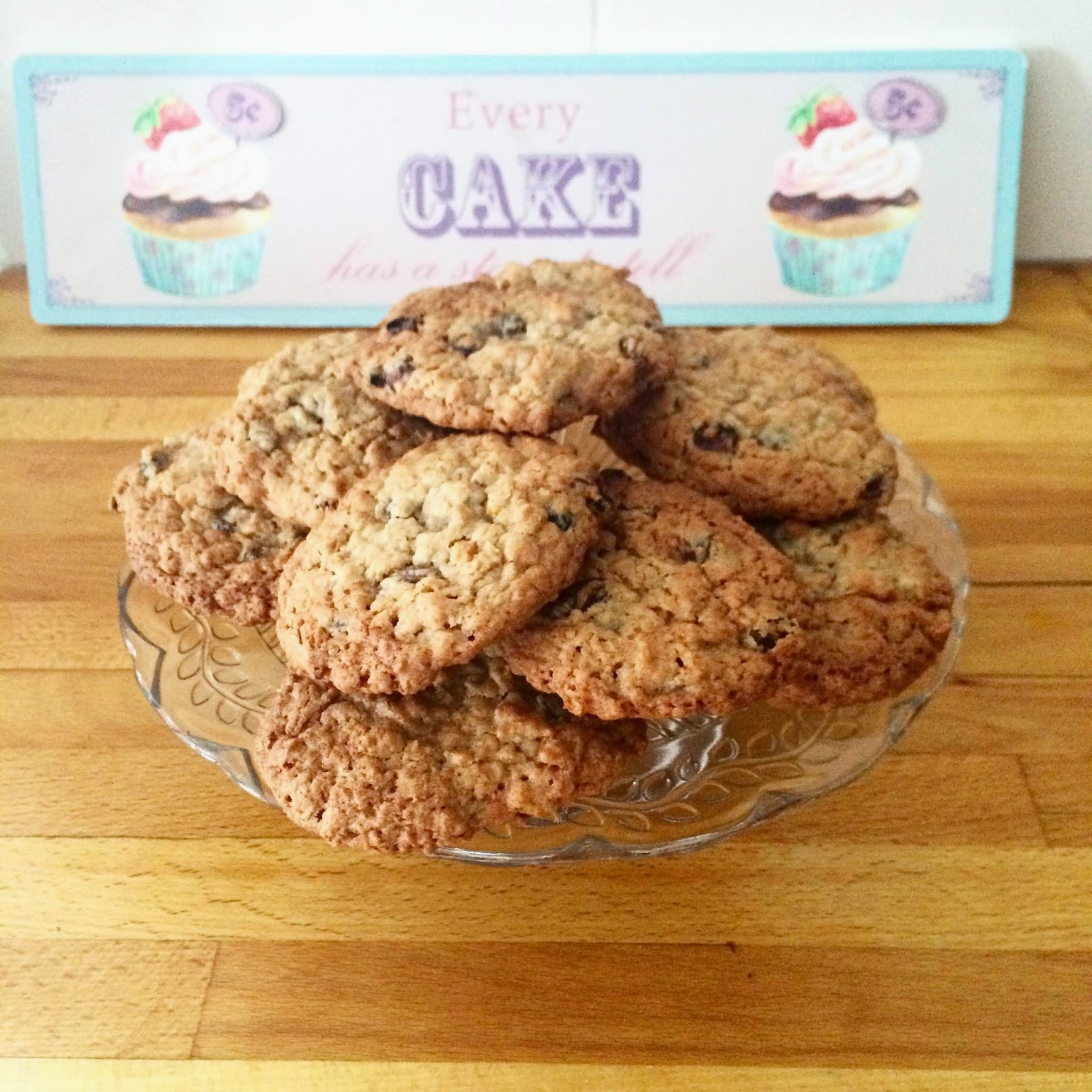 Fruity Oaty Cookies