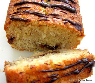 Banana, Coconut and Chocolate Tea Loaf