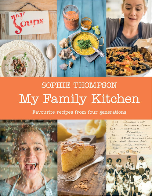 SOPHIE THOMPSON - MY FAMILY KITCHEN and VERY LEMONY ALMOND & POLENTA CAKE