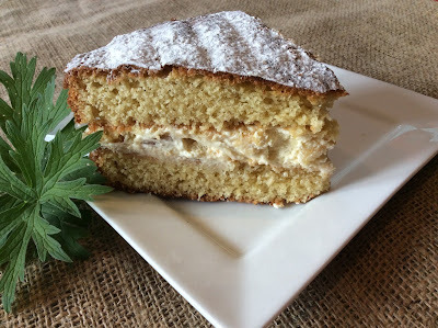 Brandy and Ginger Sponge Cake