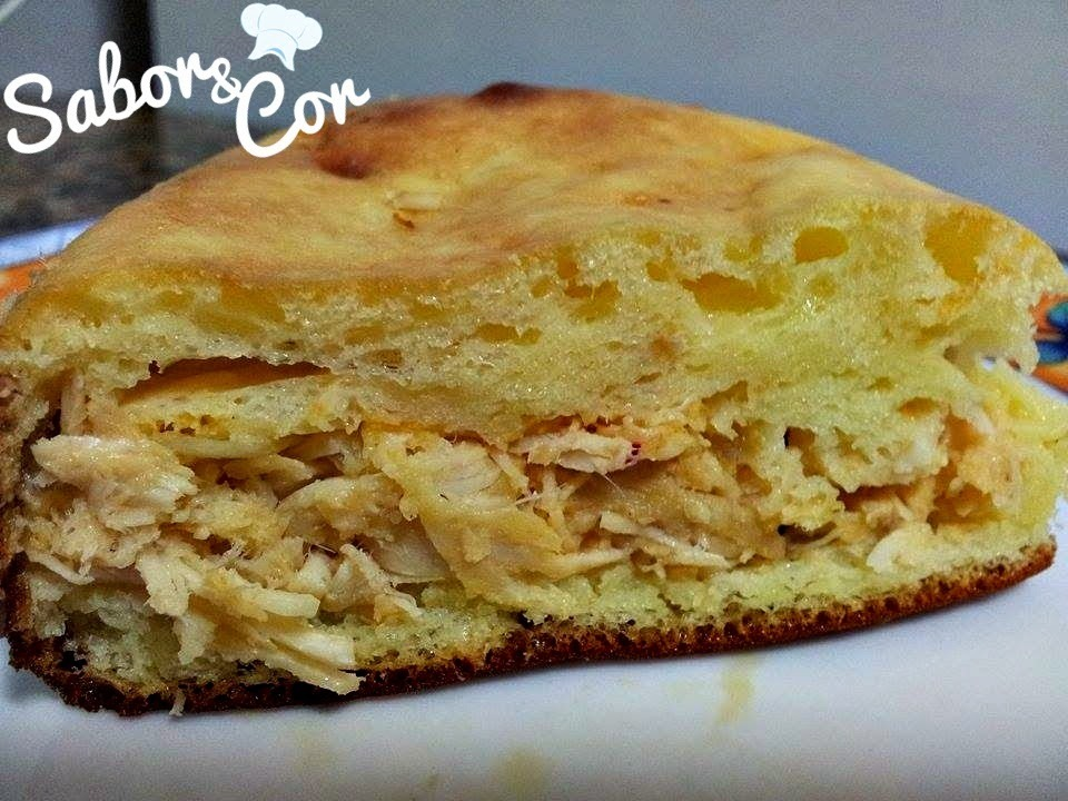 Tortilha Dukan de Frango com Requeijão Light