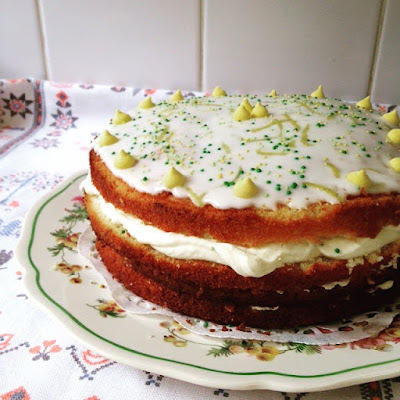 Lovely Layered Lemon Cake