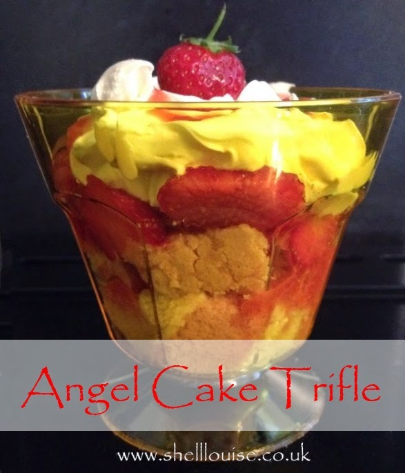 Angel layer cake and strawberry trifles #MorrisonsMums
