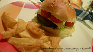 Home-made Hamburgers..... altro che McDonald!!