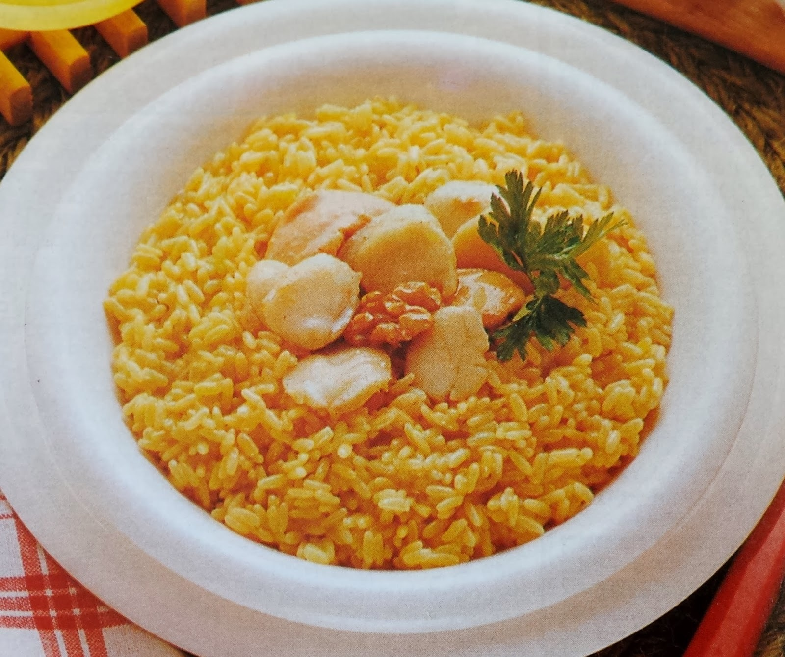 Risotto St. Jacques
