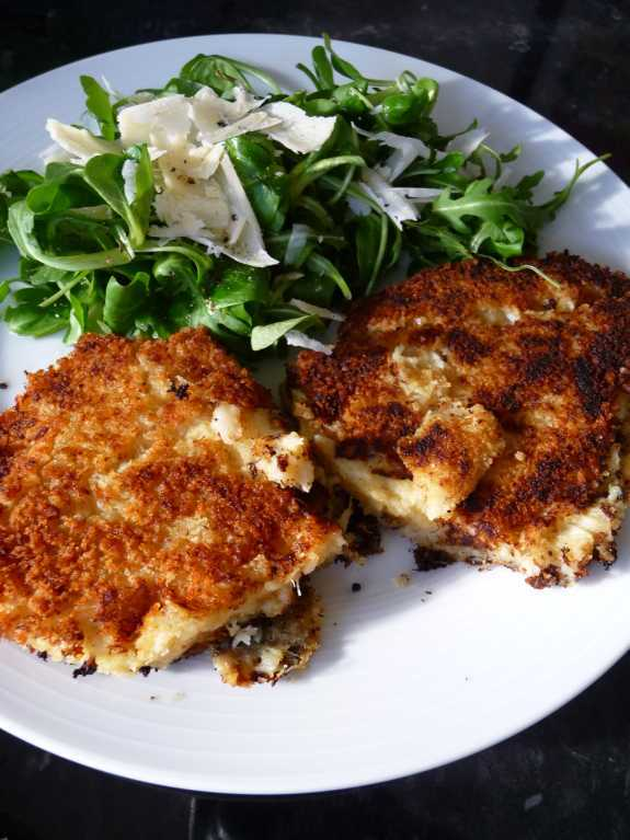 Crabcakes (just that!)