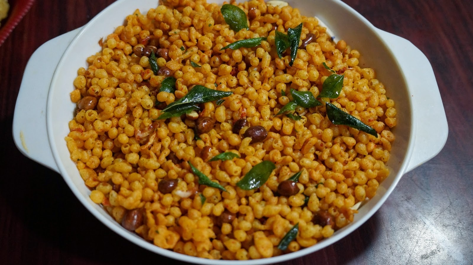 Karam boondi Recipe in Telugu