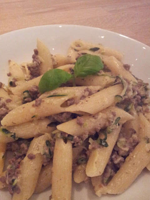 Pasta Bolognese - The White Version