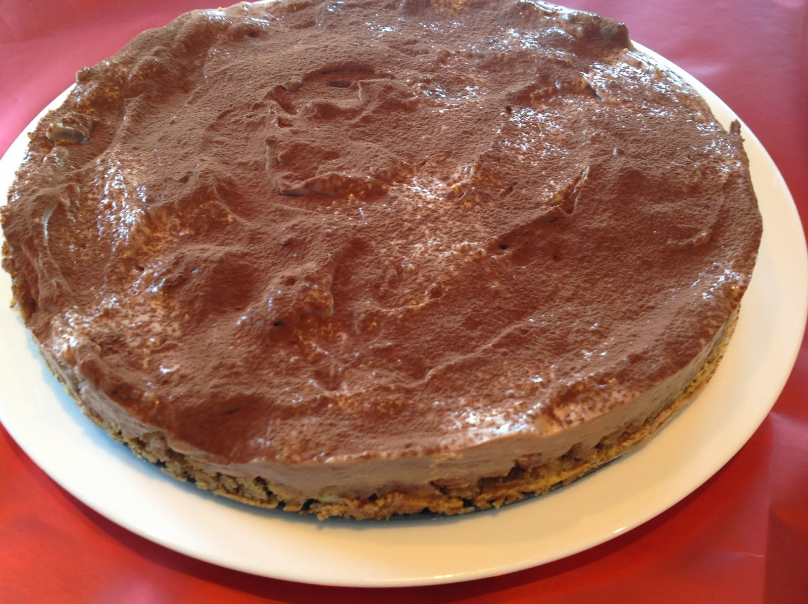 Baking for Comic Relief - Mars Bar Cheesecake