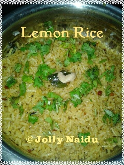 Lemon Rice Recipe | How to make Lemon Rice