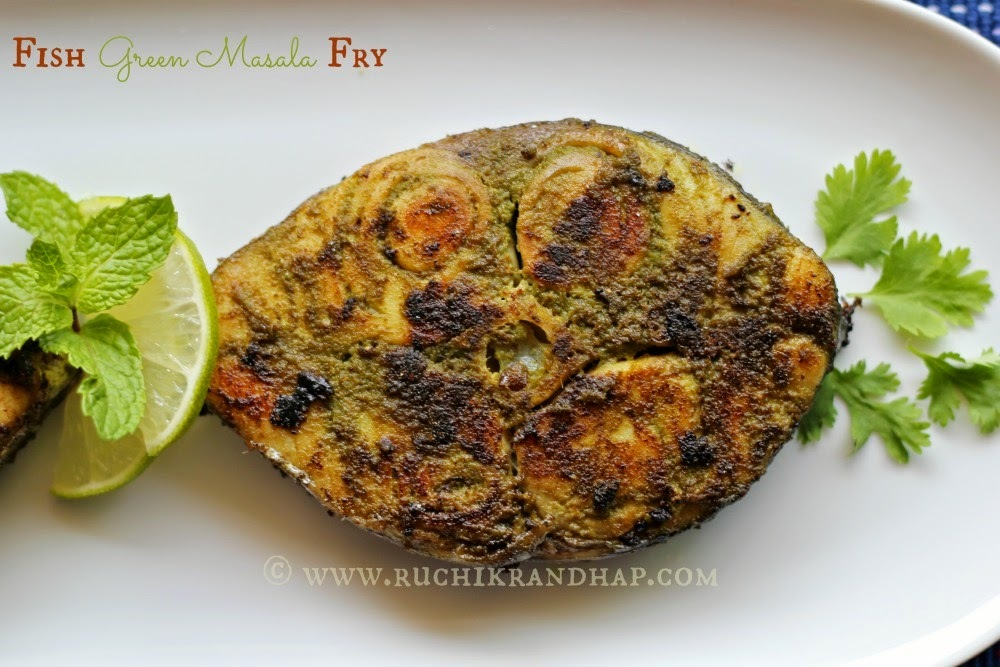 Fish Green Masala Fry