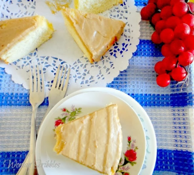 use microwave to make chiffon cake