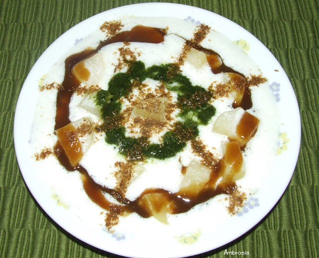 BAKED PAPDI CHAAT - STREET FOOD MADE HEALTHY AND GUILT FREE
