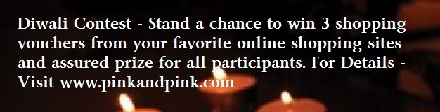 Diwali Contest from Pink and Pink - Updated with Diwali Recipes from Contestants