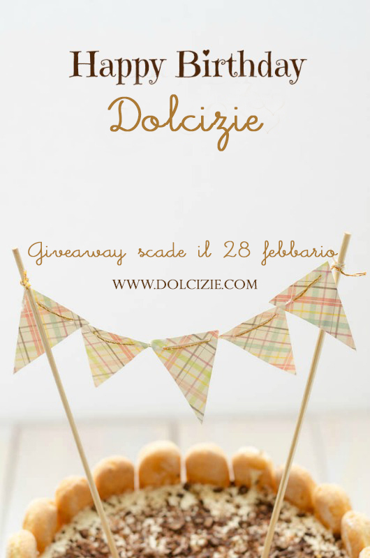 Happy Birthday Dolcizie - Giveaway