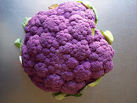 a recipe for painted cauliflower?