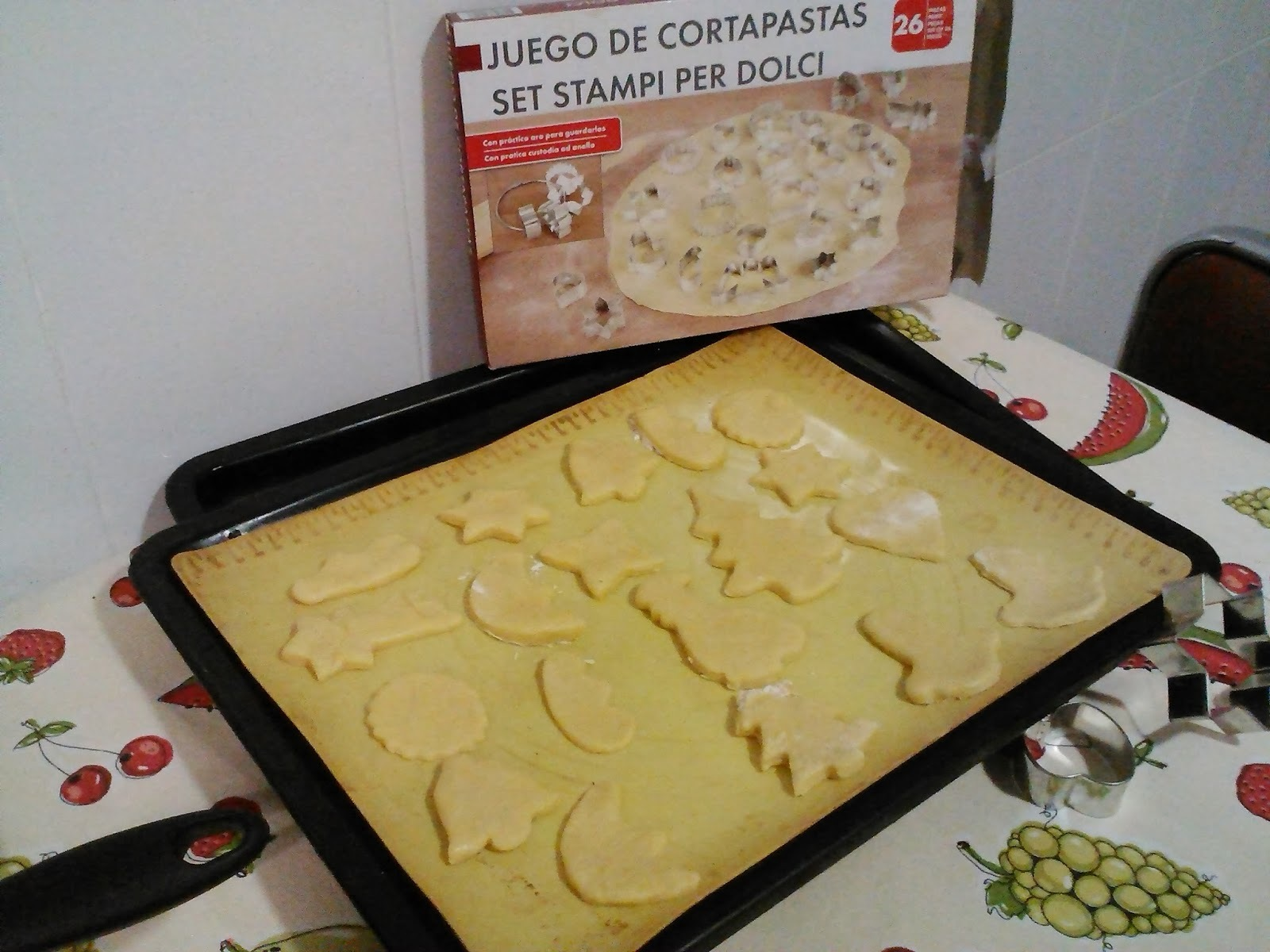 Galletas de mantequilla para glasear y decorar