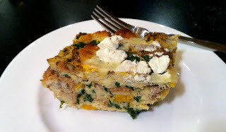 Dessert is the New Dinner: Savory Bread Pudding