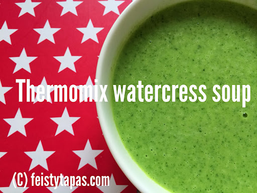 Thermomix watercress soup recipe / Receta de crema de berros con Thermomix