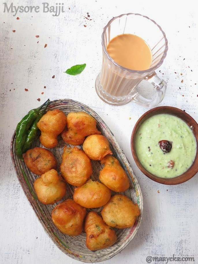 How To Make Mysore Bajji ,Goli Baje Recipe