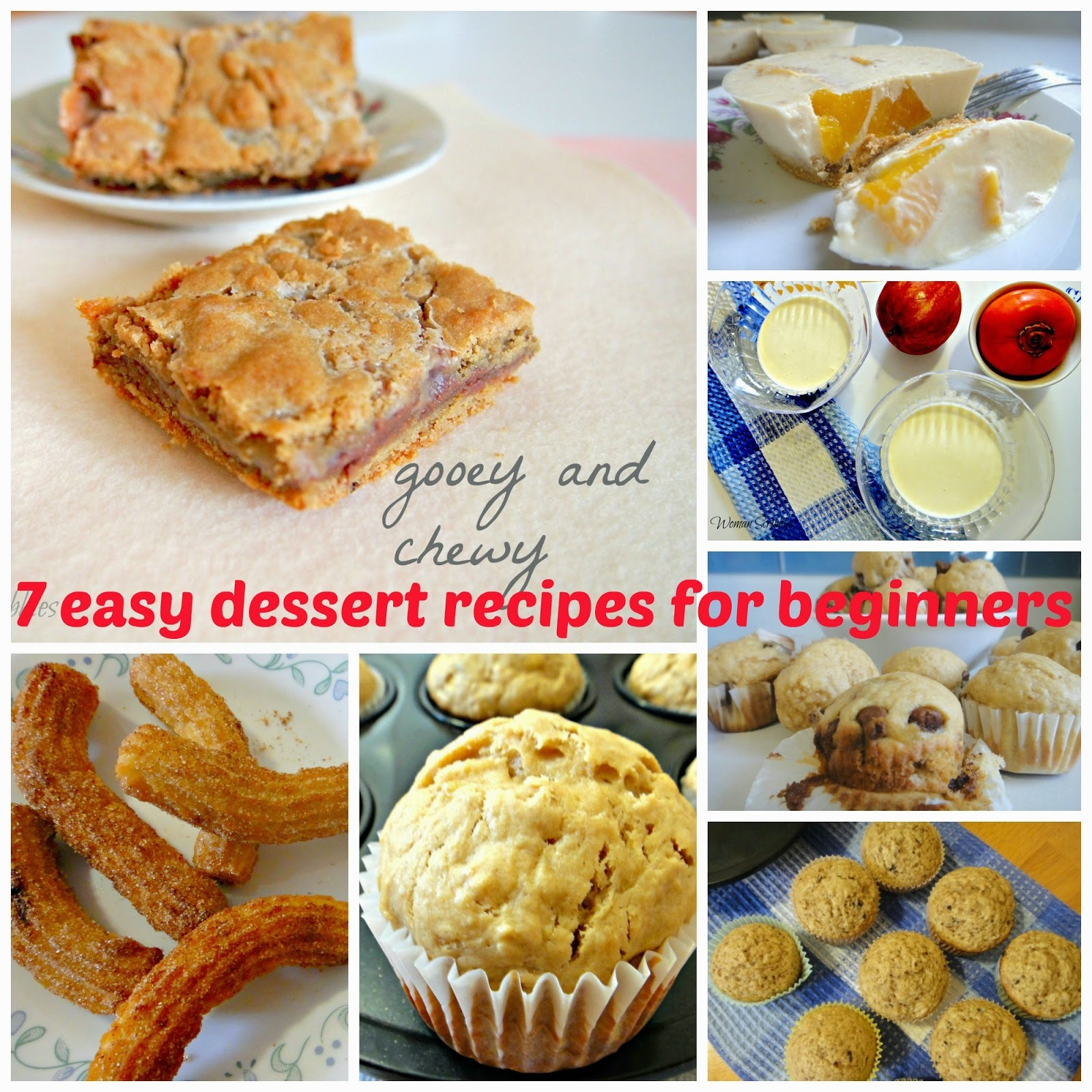 7 Easy Dessert Recipes For Beginners