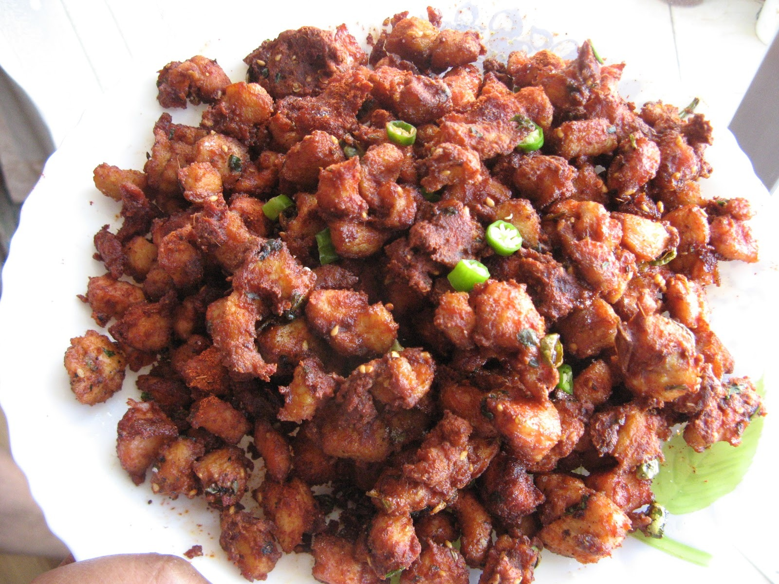DRY CHILLY CHICKEN