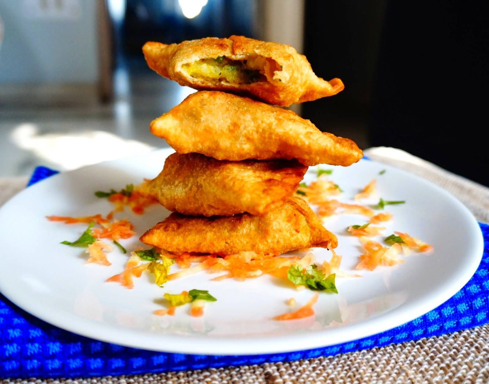 Whole wheat Samosa | Potato Samosa | Potato Pastry