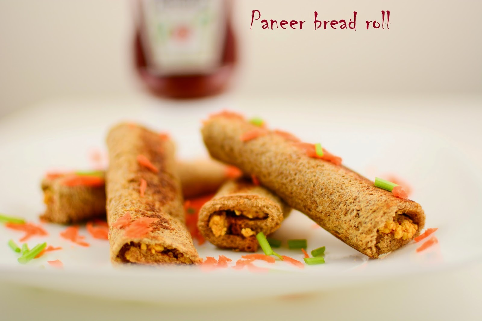Paneer Bread Roll [Step by Step Recipe with Pics]