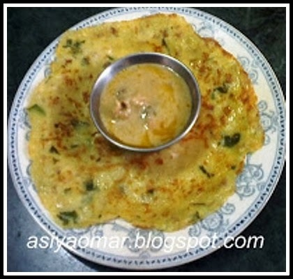 Left over rice appam / Parasappam