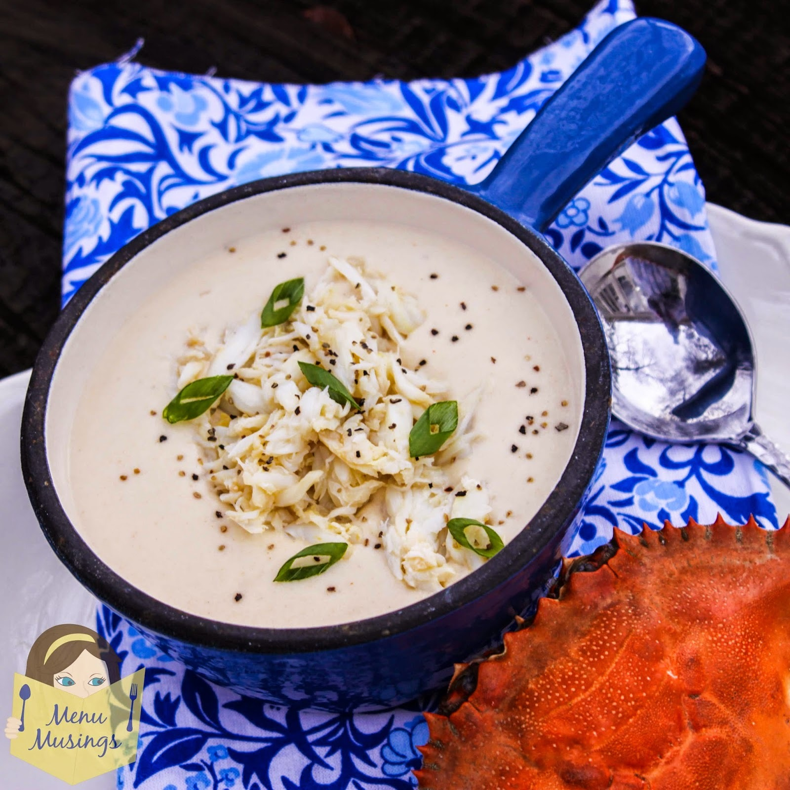 Crab and Brie Soup