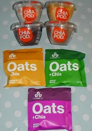 Chia Oats & Pods review