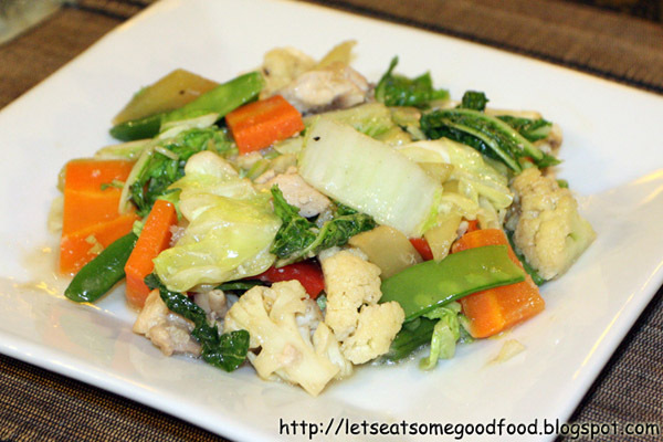 Healthy Chicken Chopsuey Recipe