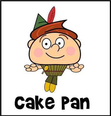 Cartoon Time - Cake Pan
