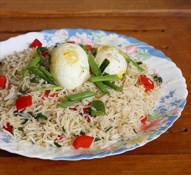 Egg Fried Rice Indian Recipe