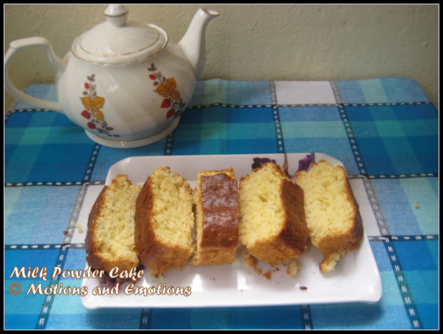 Milk Powder Cake / Eggless Milk Powder Cake