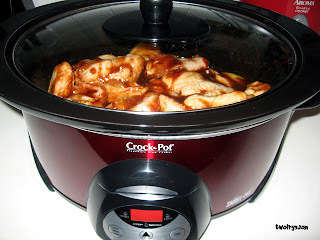 BBQ Chicken Drumettes & Wings Crock Pot Style