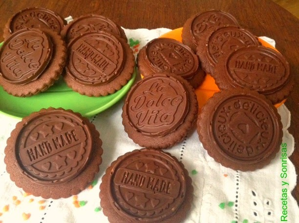 GALLETAS DOBLE CHOCOLATE ESTILO PETIT ECOLIER