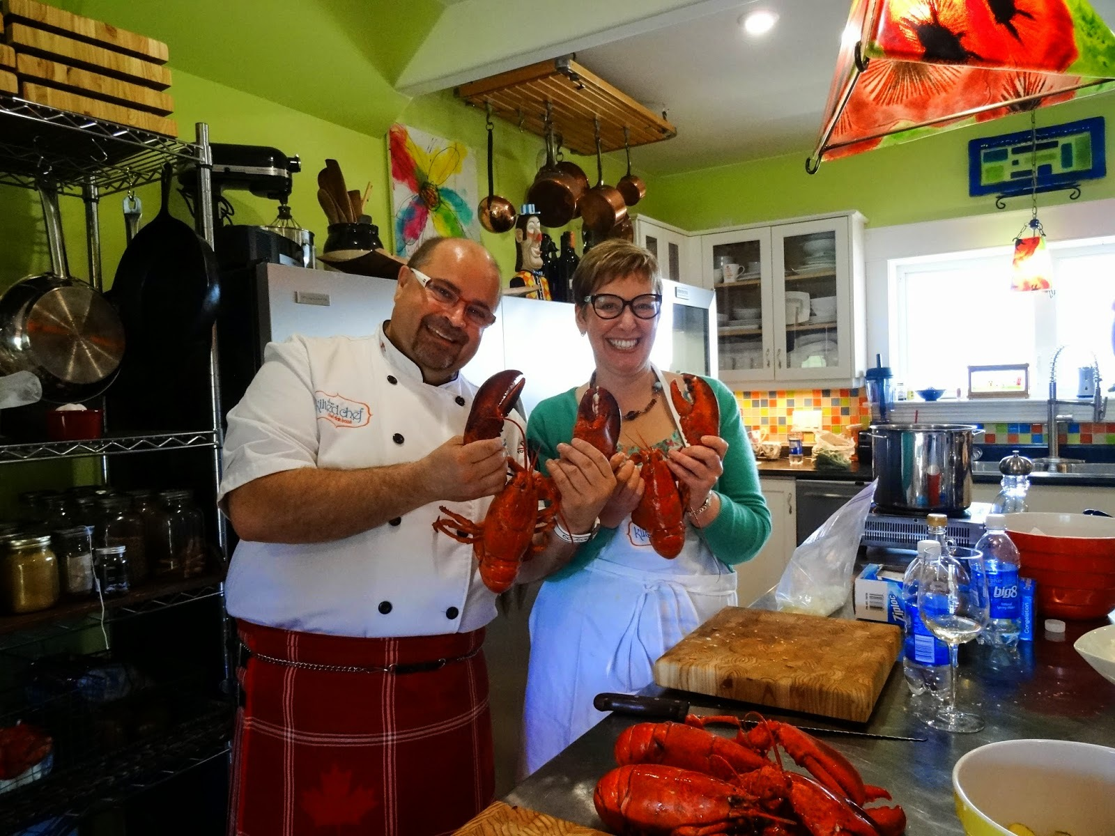 Knife Skills, Candied Bacon and Lobster 101 - The Kilted Chef Pt 2