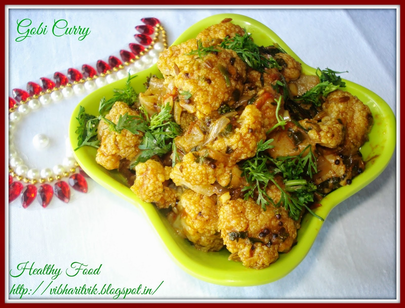 GOBI CURRY / CAULIFLOWER CURRY