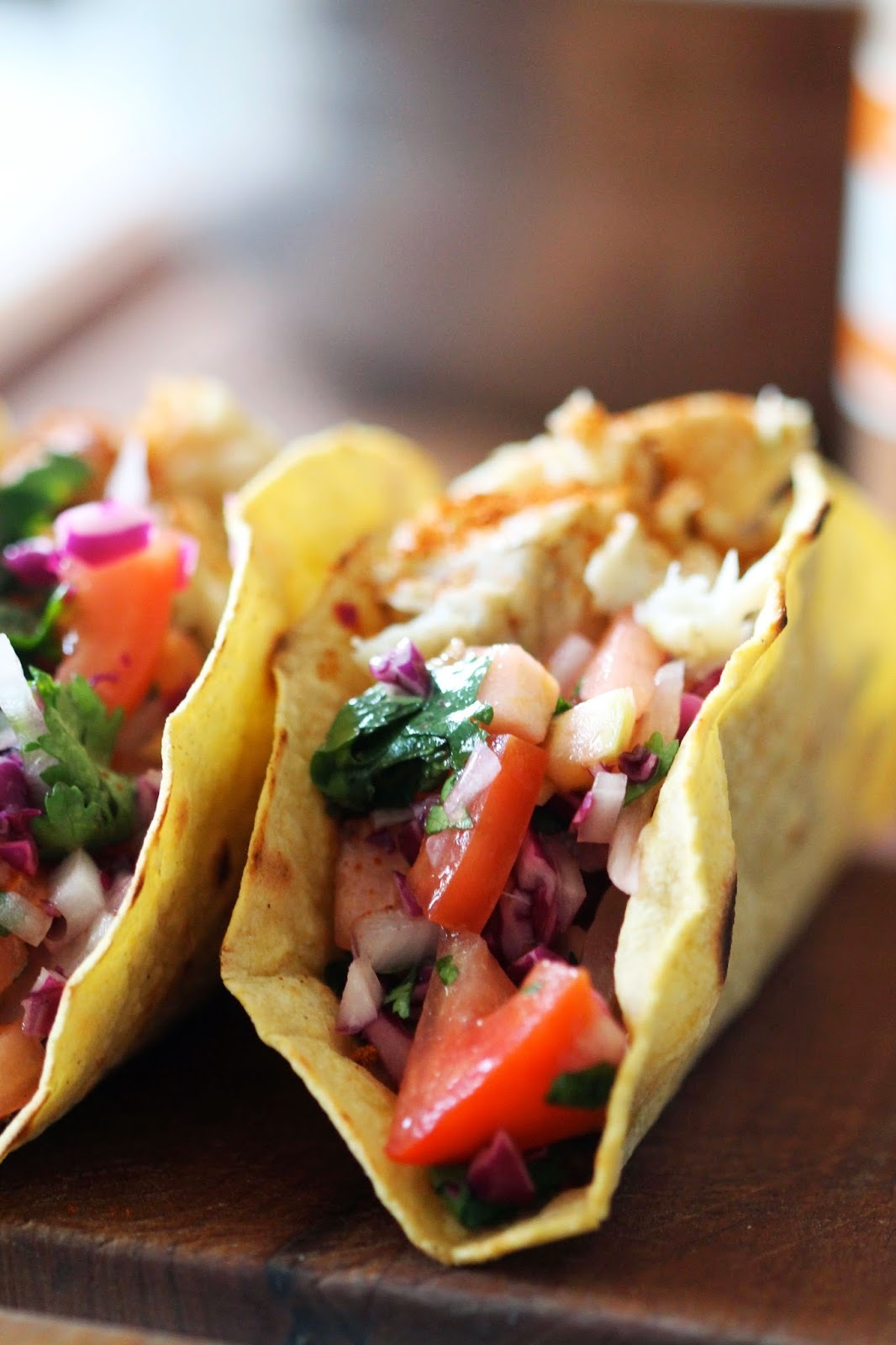 Eat Love - Healthy Fish Tacos!!